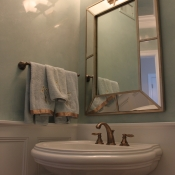 Powder Room in Newtown PA, Bucks County