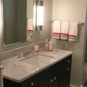 Guest bath design in the Philadelphia area