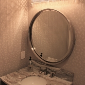 Elegant Mixtures Make a Lovely Powder Room
