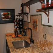 Custom wine cellar in Bucks County