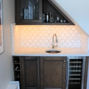 Wet Bar Design in Villanova, Pa.