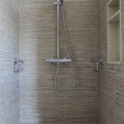 Shower Detail in Bucks County