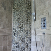 Shower Detail in Solebury, Pa