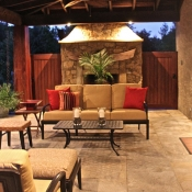 Outdoor living room in Doylestown, PA
